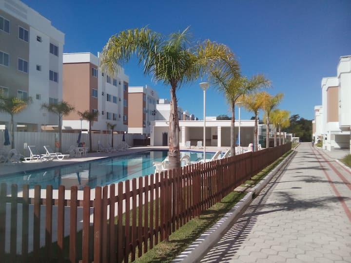 Apto 2 quartos em Canasvieiras, Florianopolis!