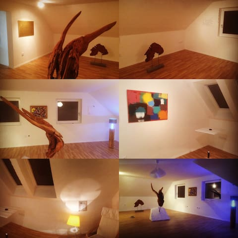 "na.boso - gallery and studio ""art and sleep"""