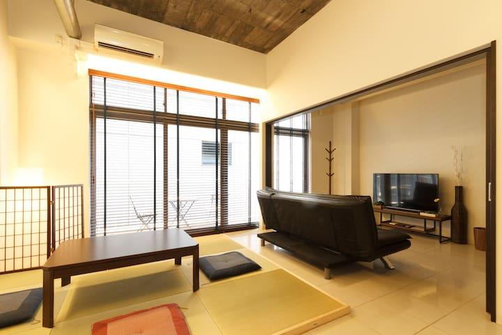302room New Open!! SHINSAIBASI Special price! - Osaka - Apartemen