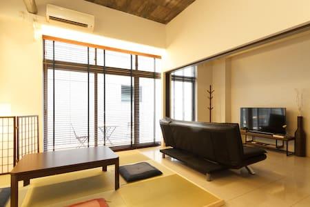 302room(60㎡)New Open!! SHINSAIBASI Special Room!! - Osaka