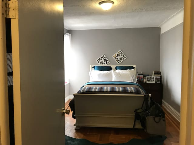 Huge Private Furnished Bedroom - Inwood - Nova York - Apartamento