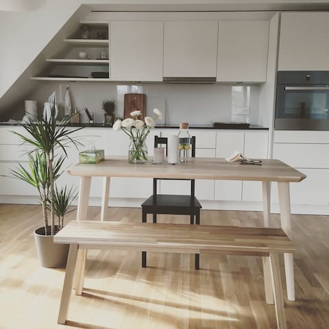 Modern comfy spacious apt in the city - Zurique - Apartamento