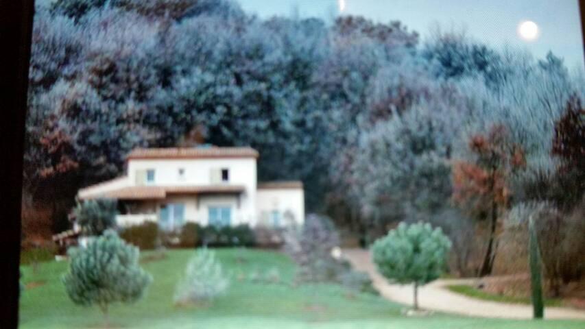 Chambre au calme - Port-Sainte-Foy-et-Ponchapt, Aquitaine-Limousin-Poitou-Charentes, FR - Ev