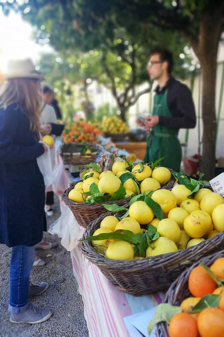 ...and local markets off the beaten path
