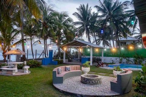 Ocean Front Prostorný dům/Casa De Playa Atlantis