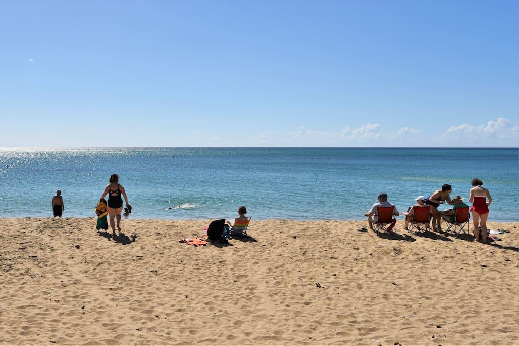 best and safer Rincon beach
