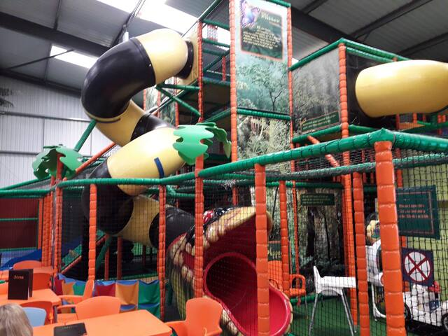 Soft play centre sleepover - Your Kid's dream stay