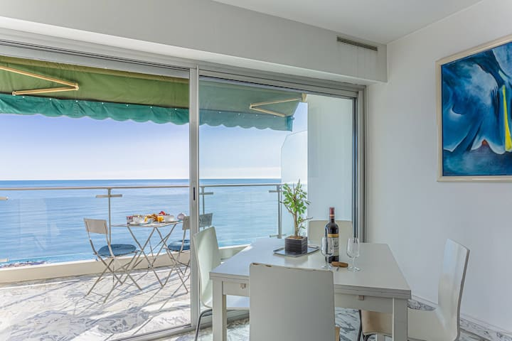 Large studio - Promenade des Anglais - Sea view