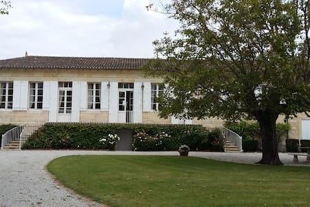 2 Chambres hôtes près Bordeaux - Domaine Madran - Saint-Louis-de-Montferrand