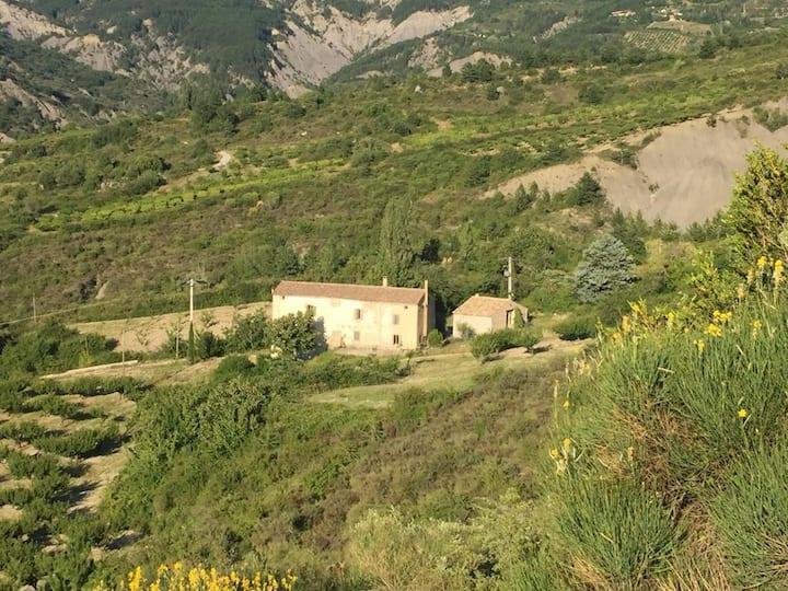Mas provençal, traditionnel et familial