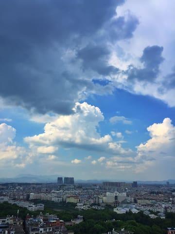 遇见阳光~萍乡市中心高层景观公寓/武功山