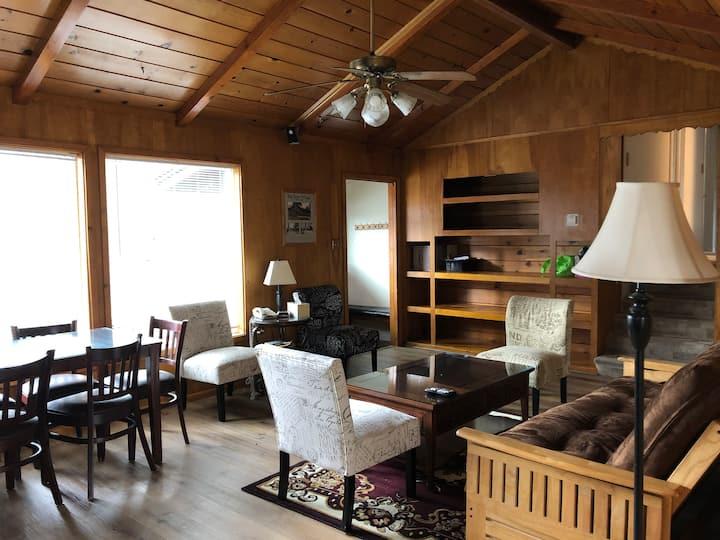 Bay Meadows Cabin Near the Lake & Village!