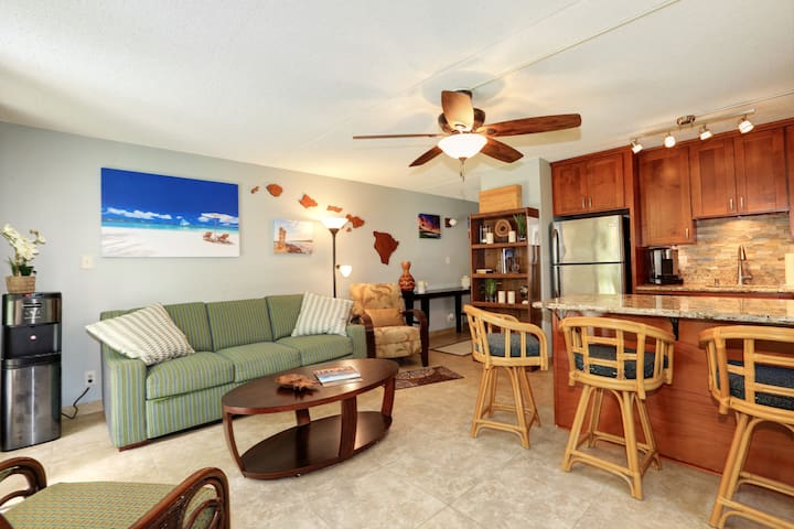 Beautiful condo across the beach , no added taxes.