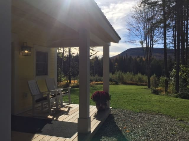Stowe Area Home with Mountain Views on 1.5 acres