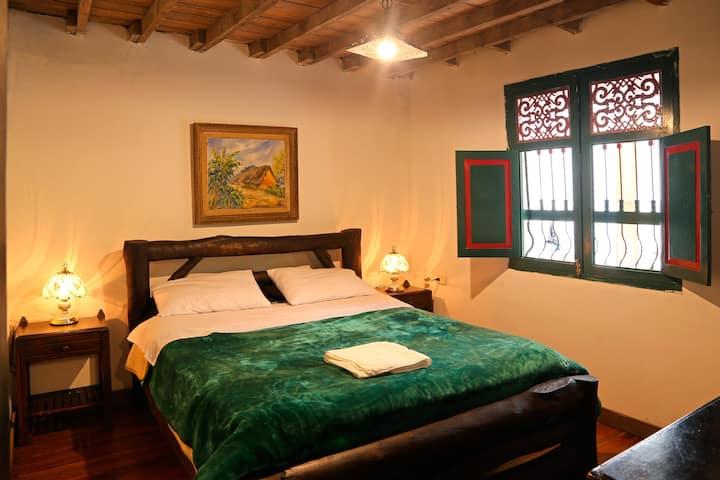Habitación 4Abuelos Finca Campestre La Adelita B&B