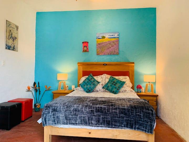 Emerald suite in the Blue Inn