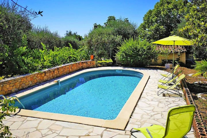 Villa with 2 bedrooms in Fayence, with private pool, enclosed garden and WiFi - 30 km from the beach