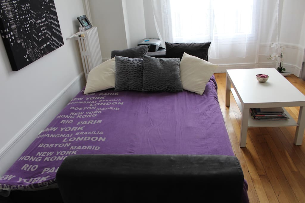 Very confortable bed for 2 persons