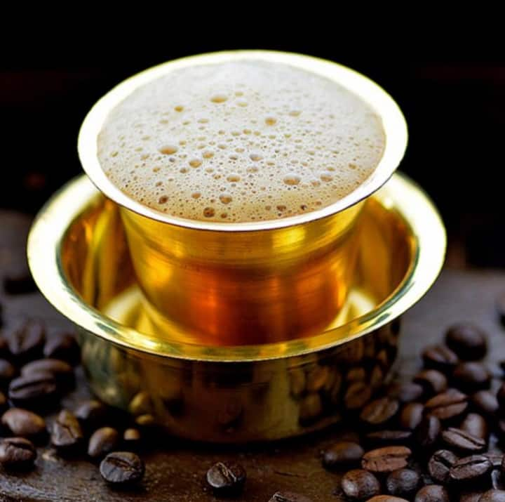 Cup of Filter Coffee for Connoisseurs
