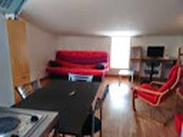 Studio proche de La Rochelle - Esnandes - Apartamento
