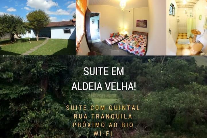 Suite em Aldeia Velha - Silva Jardim - Chatka