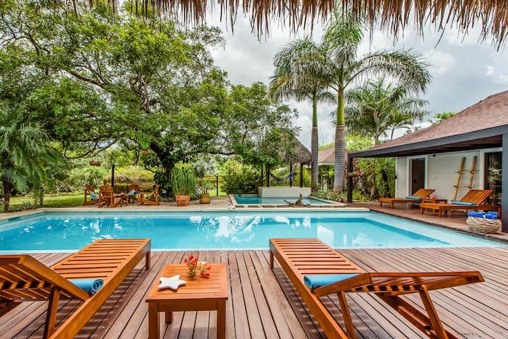 Tropical villa -Tamarindo-avellanas - Tamarindo - Casa de camp