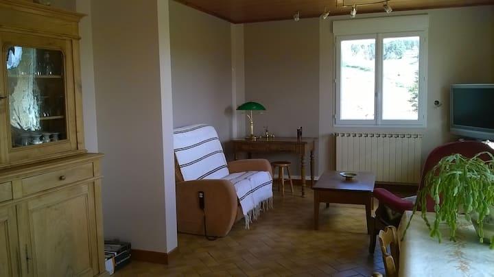 Maison en Lozère- Margeride: vacances au vert
