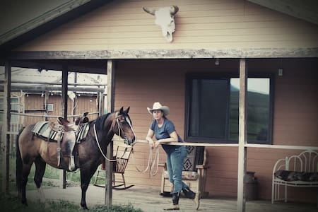 Mountains&Horses-Rustic Cabin on Cattleranch room1