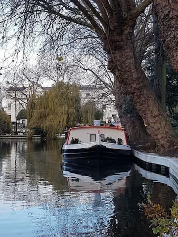 Freedom canal boat Paddington, Little Venice