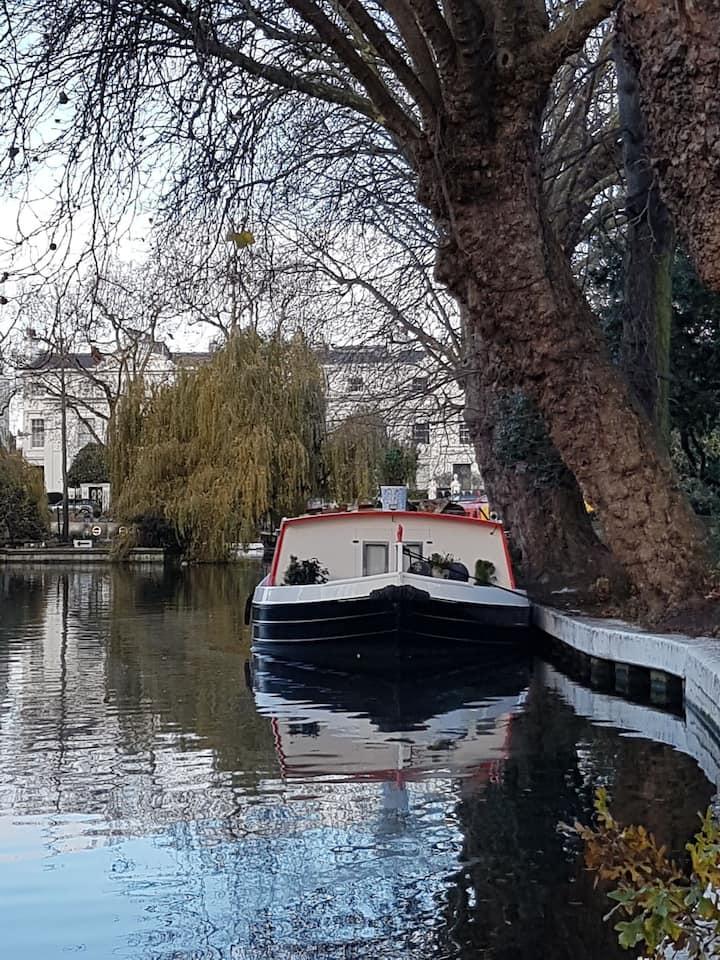 Freedom canal boat Paddington, Little Venice