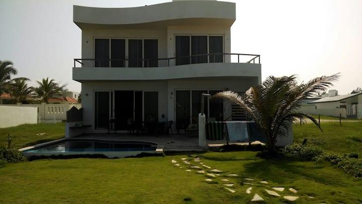 Casa frente al mar...Amarazul TAMPICO