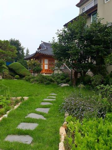 금마 전통한옥 영월당(사랑방)