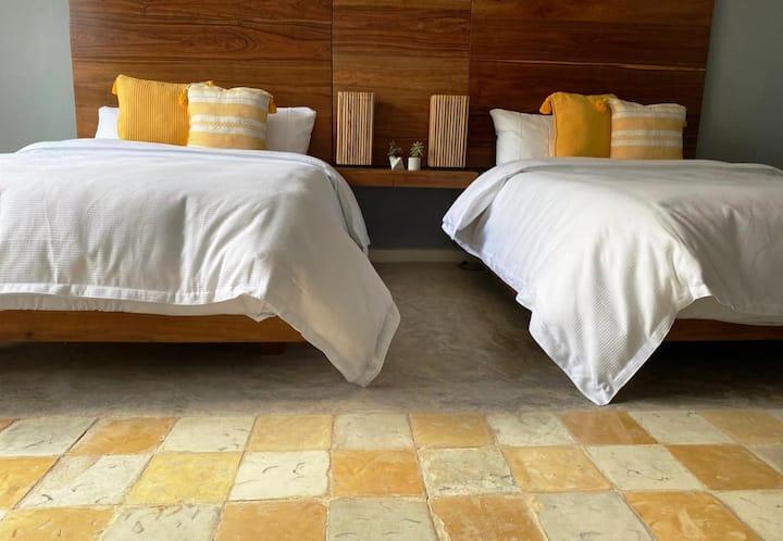 México, Centro de Mérida, 2 camas  matrimoniales