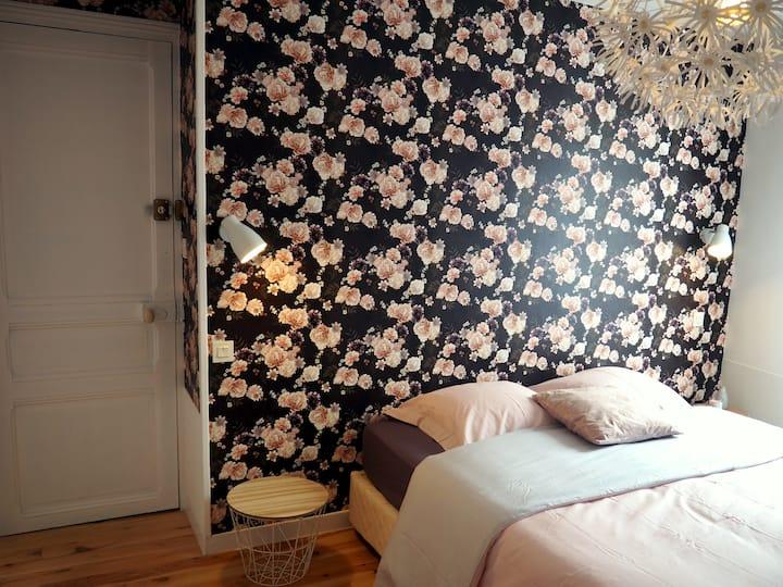 Chambre d'hotel - Flora 1 à 4 personnes