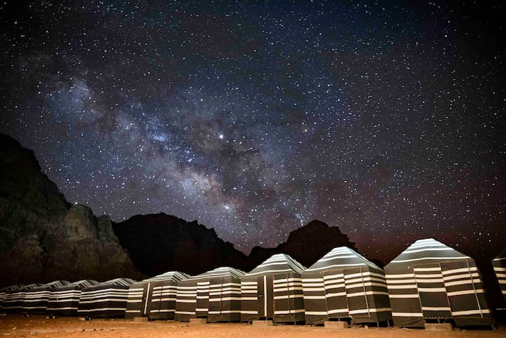 Wadi Rum Desert Dreams - Camp experience