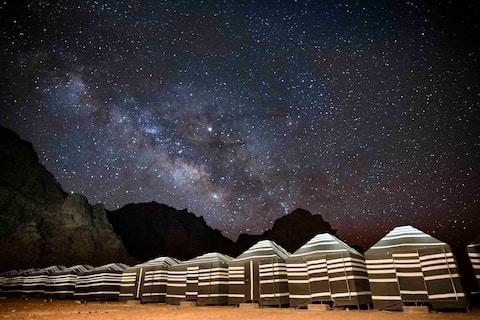 Traditional Bedouin Camp & Wadi Rum Tours, Tent 1