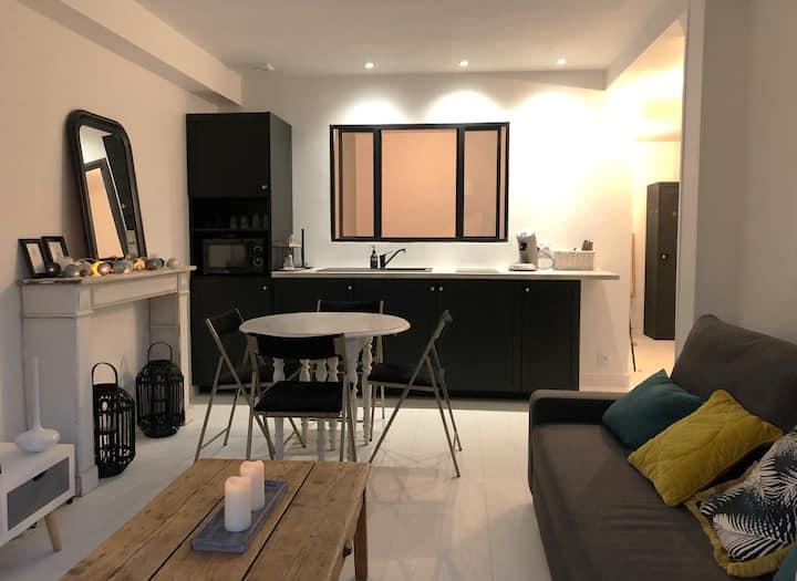 Très bel appartement rénové à 50 m de la plage