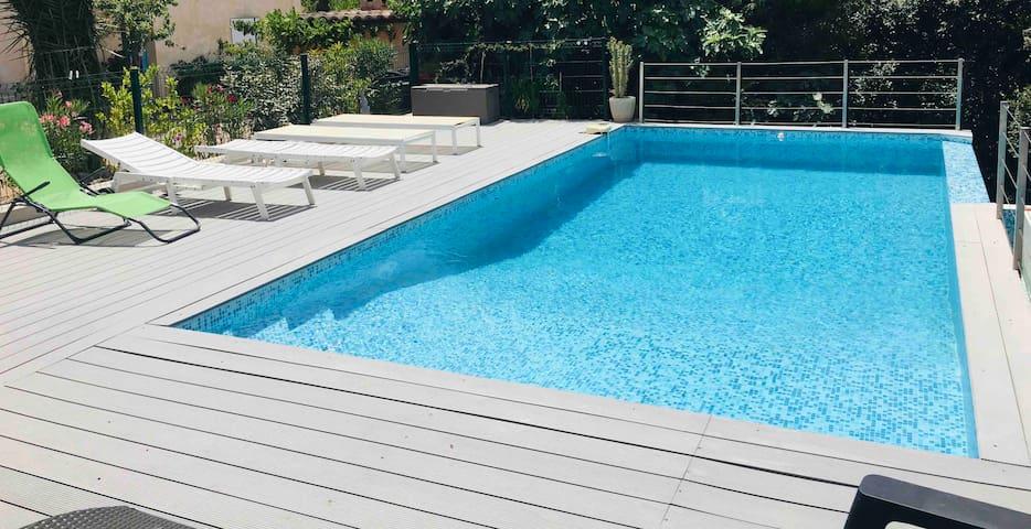 Appartement piscine à partager