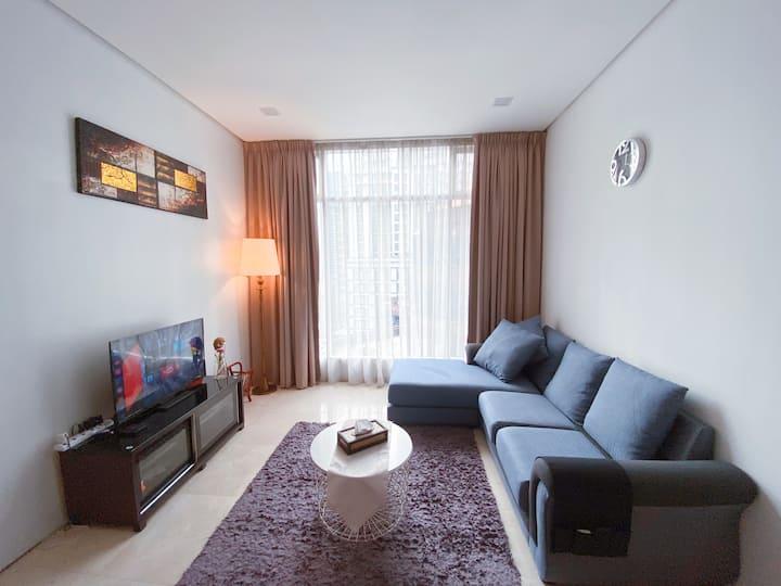 吉隆坡Soho Suites KLCC 4-7PAX with Nice View