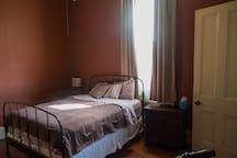 Bedroom - Queen Sized bed and dresser