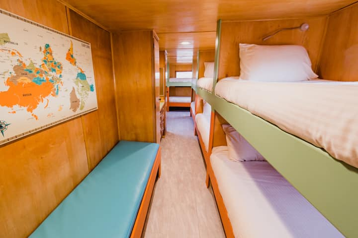 The Sands: 8 Bed trailer for Groups or Families.