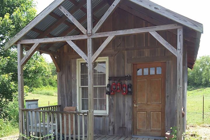 Minimal Cabin at the Gallatin Earthship