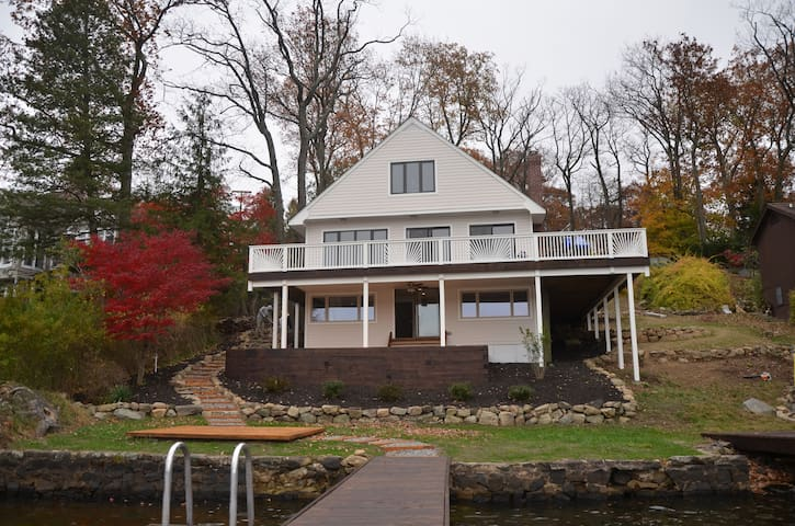 Lake House on spectacular Byram Bay - Hopatcong - Maison