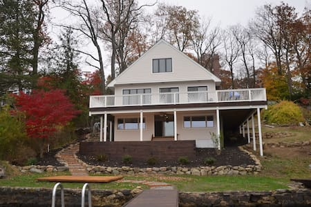 Lake House on spectacular Byram Bay - Hopatcong - Casa