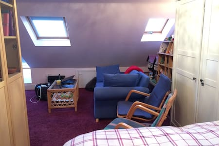 En-suite loft near tube, quick to central London - Лондон