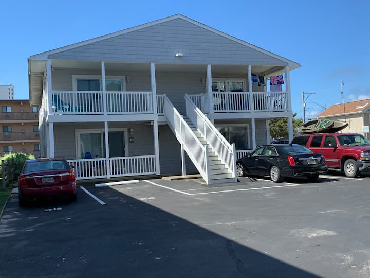 Vintage Beach Condo in Prime OCMD Location.
