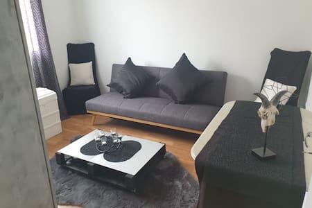 Jolie chambre moderne dans appartement lumineux