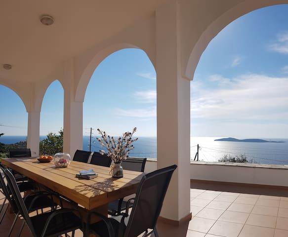 Villa Hena at Batsi with awesome sea view