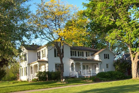 Esten-Wahl Farm - Historic Landmark Victorian Home - Fairport