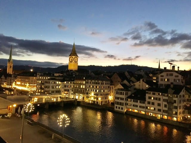 New studio with absolutely dream views ! - Zürich - Apartment